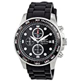Invicta Signature II Chronograph Black Dial Men's Watch 7371