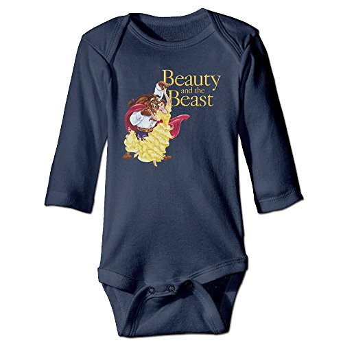 Beauty And The Beast Original For Climbing Clothes Infant Rompers Navy (Original Trailer For Halloween)
