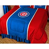 """Chicago Cubs MLB """"Side Lines"""" Collection Bed Comforter"""