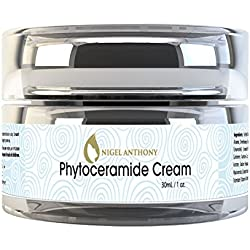 Nigel Anthony PHYTOCERAMIDE CREAM – Natural Facial Skin Cream with Rosemary and Balm Mint, for Extreme Hydration & Mositurizing for Wrinkles, Lines, Blemishes & Dry Skin for Women & Men