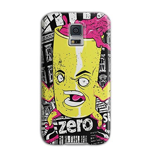 [Can of Juice Mascot Taste Sugar NEW Black 3D Samsung Galaxy S5 Case | Wellcoda] (Vending Machine Costume Ideas)