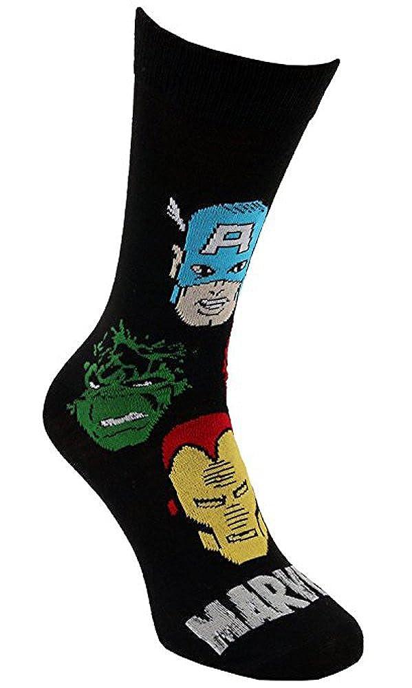 i-Smalls Socken der M/änner Marvel Avengers Iron Man Hulk Thor Spiderman Captain America Socken EUR 39-45
