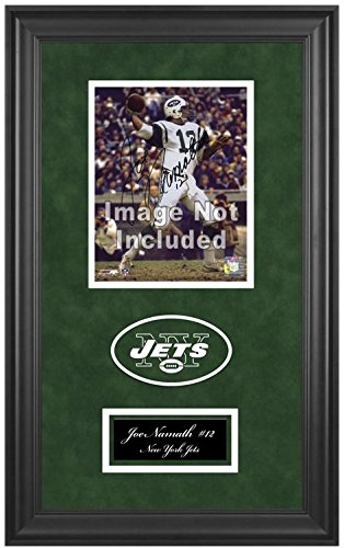 New York Jets Deluxe 8x10 Team Logo Frame by Mounted Memories