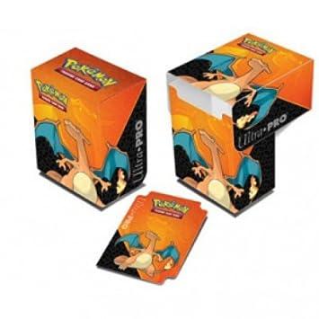 Pokémon - juegos de cartas - cajas de almacenamiento - Deck Box Pokémon Charizard: Amazon.es: Juguetes y juegos