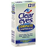 Clear eyes Complete 7 Symptom Relief Eye Drops 0.5 fl oz(pack of 2)
