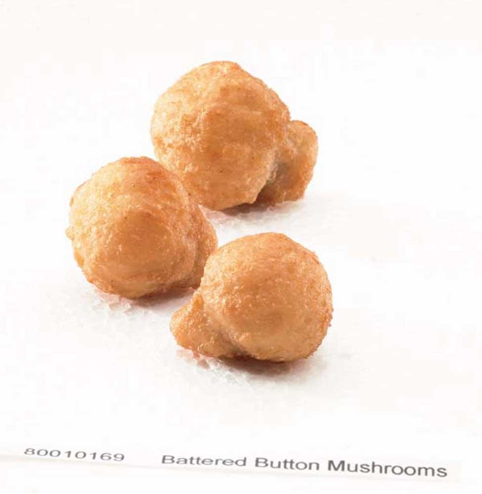 McCain Golden Crisp Battered Button Mushroom - Appetizer, 2.2 Pound - 3 per case.