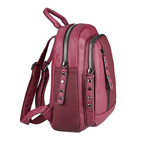 8 mini Ipad Organizer ca to 26x28x10 Shoulder Nexus up Tablet WxHxD Cognac Backpack Ladies BackPack BackPack 27x30x10 cm Cm Zoll Shoulder Bag Backpack Bordo bag City City WU6Oqwp