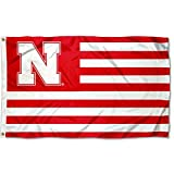 Nebraska Cornhuskers Stars and Stripes Nation Flag