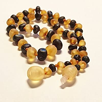 The Art of Cure Baltic Amber Teething Necklace