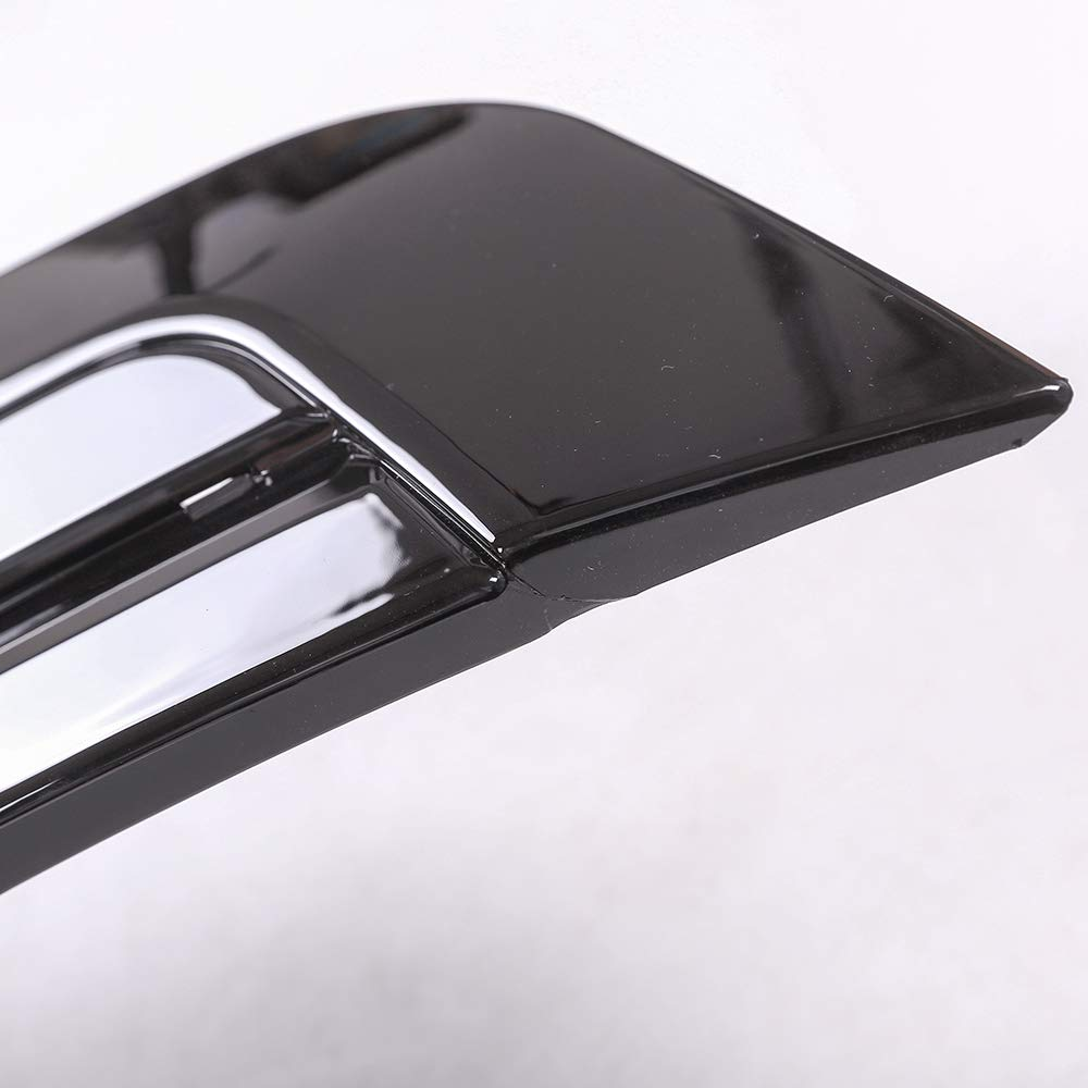 YUECHI for Land Rover Range Rover Vogue LR405 2013-2017 ABS Chrome Gloss Black Hood Panel Cover Trim Model Refitting by YUECHI (Image #4)
