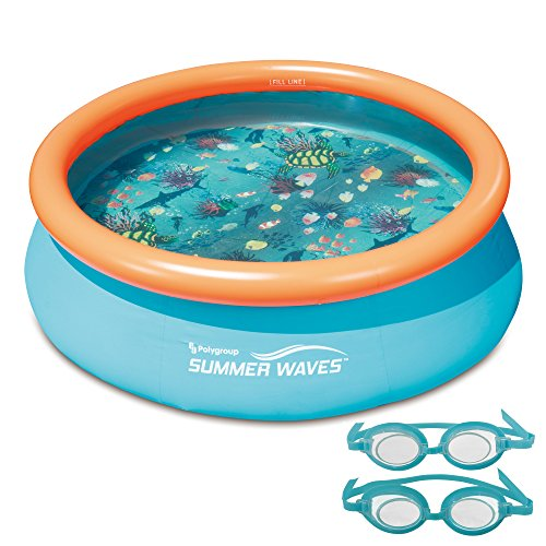3D Fast Set Round Family Pool, 7'