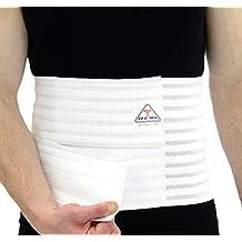 """ITA-MED Breathable Elastic Abdominal Binder Belt for Men (12"""" Wide) AB-412(M)"""