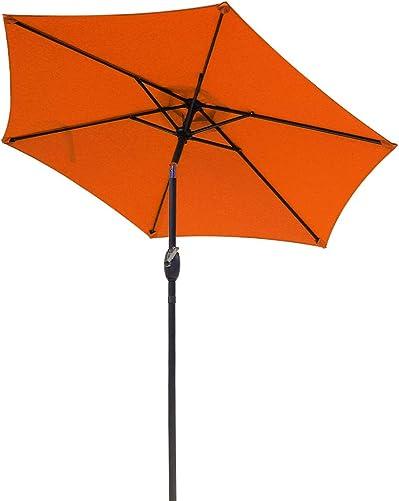 Aok Garden 7.5 ft Outdoor Umbrella