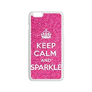 Pink simple motto design Cell Phone Case for iPhone 6