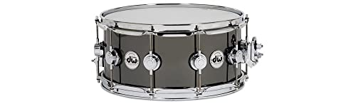 DW Collector's Series Black Nickel Over Brass Snare Drum