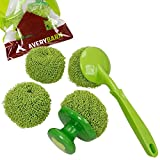 Avery Barn 4pc Kitchen Cleaning Scrubber And Dishwashing Brush Ball Tools Bundle