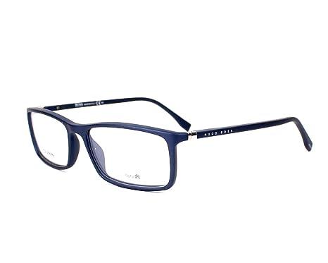 Amazon.com: Optical frame Hugo Boss Optyl Matt Blue (BOSS 0680 V5Q ...