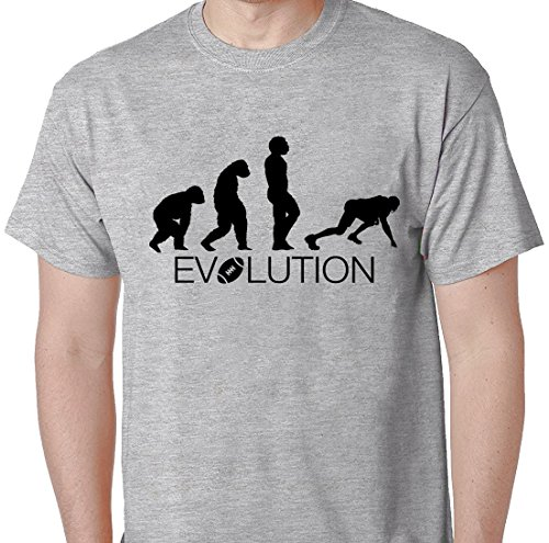 Evolution Football Patriots Celebration Super Bowl 2017 Winning T Shirt Small Grey