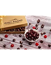 Andy Anand's California Dark Chocolate Covered Cherries for Birthday, Valentine Day, Gourmet Christmas Holiday Food Gift Basket, Thanksgiving, Mothers Fathers Day, Corporate Gifts - (1lb)