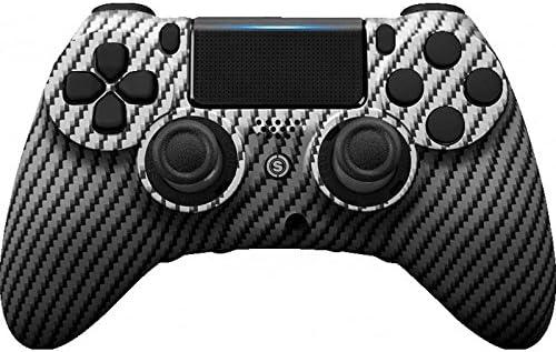 PS4 PC Controlador de Scuf IMPACTO de Fibra de Carbono Grafito: Amazon.es: Electrónica