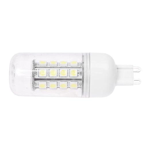 SODIAL(R) G9 7W LED Bombilla de Maiz de Lampara 36 5050 SMD Blanca