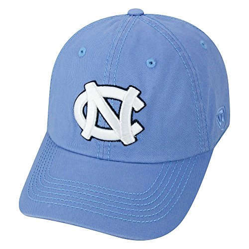 (NCAA North Carolina Tar Heels Elite Fan Shop Kids Adjustable Relaxed Fit Team Hat, Light Blue)