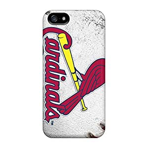 Hot St. Louis Cardinals First Grade Tpu Phone Case For Iphone 5/5s Case Cover
