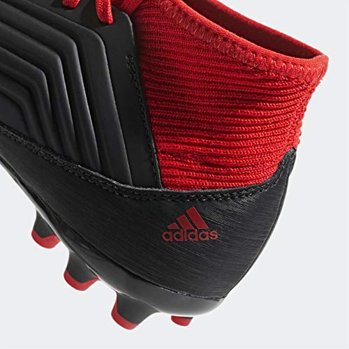 AG Rojo Negbás Ftwbla Unisex Adulto de Predator Botas J Adidas 001 Fútbol 18 Negro 3 SgqWfp