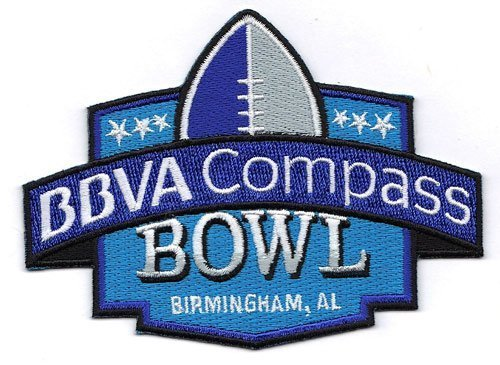 Bbva Compass Bowl Ncaa Game Jersey Patch  Birminghan  Alabama  By Patch Collection