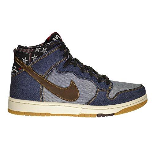 Amazon.com   Nike Dunk Comfort Men's Shoes Denim/Track Brown-Sail  705434-401 (7.5 D(M) US)   Basketball