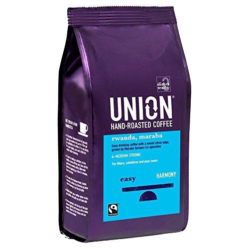 Union Hand Roasted Fairtrade Rwandan Maraba Coffee (227g) - Pack of 2