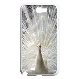 case Of Peacock Customized Bumper Plastic Hard Case For Samsung Galaxy Note 2 N7100