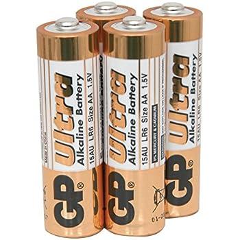Amazon.com: 2pcs GP LR6 1.5V 15A AA Alkaline Batteries