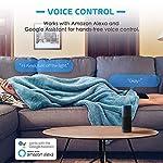 51W AZY0FPL. SS150  - Meross Intelligente WLAN Steckdose Wi-Fi Steckdose, kompatibel Alexa, Google Home und SmartThings, mit App Fernsteuerung für iOS und Android, 16A-3680W, 2 Stück -