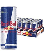 Red Bull Energy Drink, 24er Pack, EINWEG (24 x 250 ml Dosen)