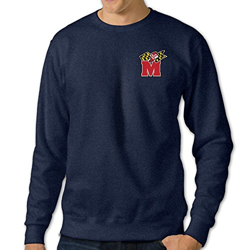 JJVAT Men's University Of Maryland Crewneck Sweat Shirt Size XL