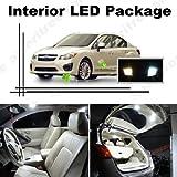 Ameritree Subaru Impreza wrx 2004-2013 ( 6 Pcs ) Xenon White LED Lights Interior Package + White LED License Plate Kit