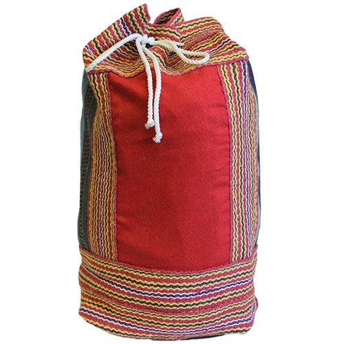 Nepal Duffle Bag Red Panel