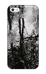 Fashionable KXoCjux2301hHFxu Iphone 5/5s Case Cover For Puddles Of Rain Protective Case