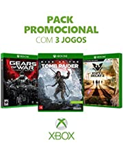 Kit Game Gears Of War Ultimate Ed + Rise Of The Tomb Raider +  State Of Decay 2 - Xbox One