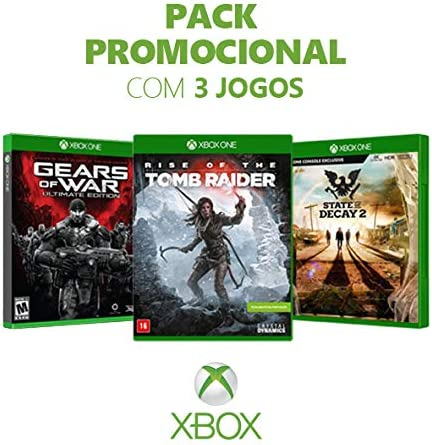 Box Games - Gears Of War Ultimate Ed + Rise Of The Tomb Raider + State Of Decay 2 - Xbox One
