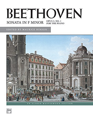 Download Sonata in F minor, Op. 2, No. 1 (Alfred Masterwork Edition) by Ludwig van Beethoven (2006) Paperback pdf
