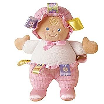 Amazon Com Mary Meyer Taggies Developmental Baby Doll Pink 8