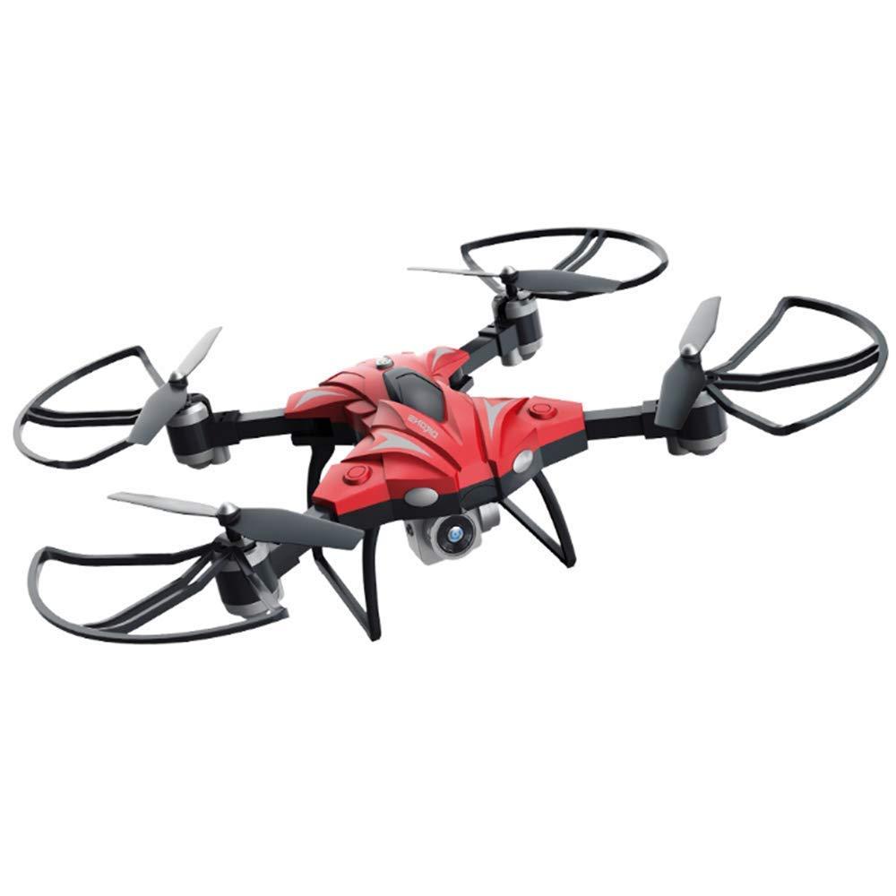 Con 100% de calidad y servicio de% 100. MZ Drone con Telecamera HD, Avión con con con WiFi 2.4GHz FPV, RC Quadcopter Videocamara RTF Suspension de Altura, Modo sin Cabeza, Flip 3D,rojo  entrega rápida