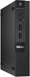 Dell Optiplex 9020 Ultra Small Tiny Desktop Micro Computer PC (Intel Core i3-4160T, 8GB Ram, 256GB Solid State SSD, WiFi, HDMI Win 10 Pro (Renewed)