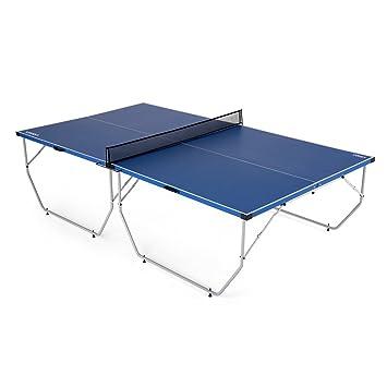 """1915ea9e8ce60 Lixada Table de ping-pong plateau pliable facile à transporter pour  intérieur ou exterieur 108"""""""