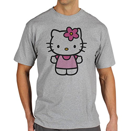 Hellokitty-Logotype-Famous-Type-Majestic-Mens-T-Shirt