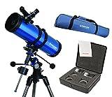 Meade Polaris 130mmTelescope w/ Travel Bag & Eyepiece Accessory Kit