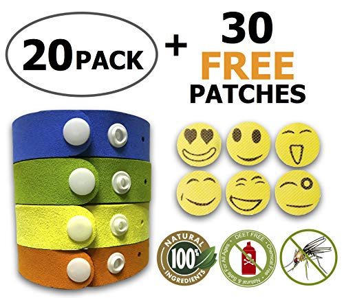 Mosquito Repellent Bracelet, Insect & Bug Repellent Bands,10