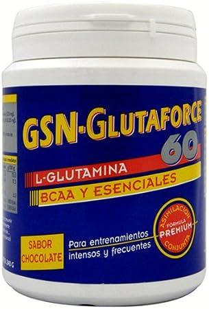 GLUTAFORCE-60 CHOCO 240GR: Amazon.es: Salud y cuidado personal